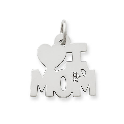 View Larger Image of I Love Mom Charm