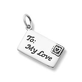 Enamel Love Letter Charm