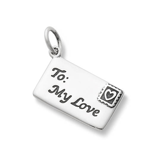 View Larger Image of Enamel Love Letter Charm