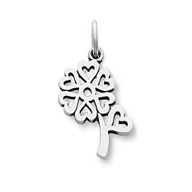 Seven Hearts Flower Charm