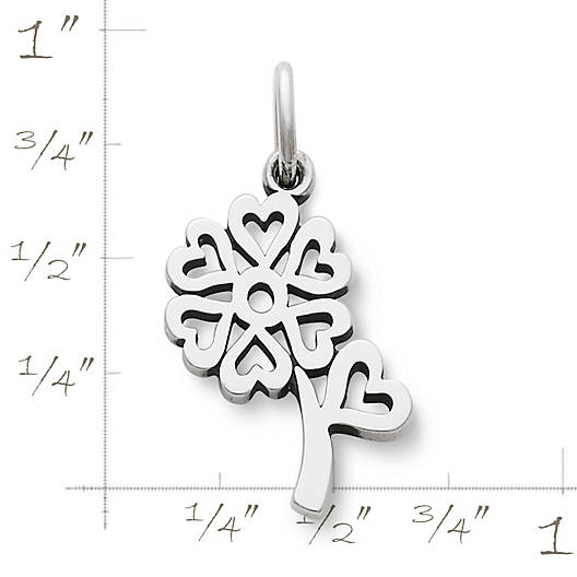 View Larger Image of Seven Hearts Flower Charm