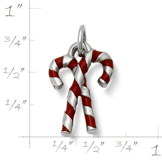 View Larger Image of Enamel Candy Cane Charm