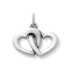 Linked Hearts Charm