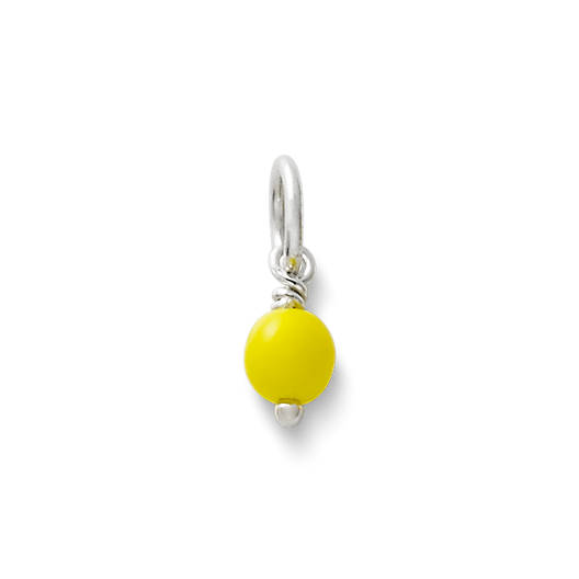 View Larger Image of Yellow Glass Enhancer Bead
