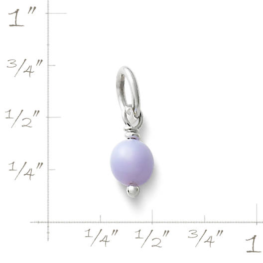 View Larger Image of Lavender Glass Enhancer Bead