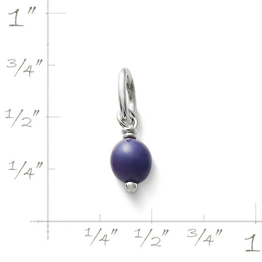 View Larger Image of Purple Glass Enhancer Bead