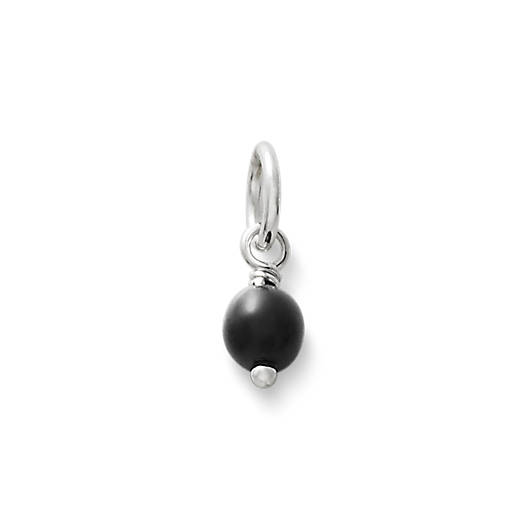 View Larger Image of Black Glass Enhancer Bead