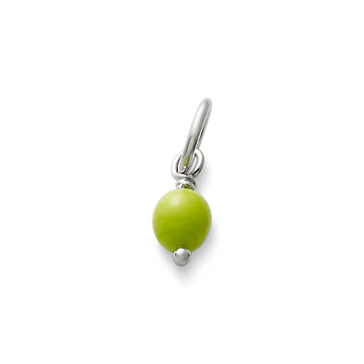 Light Green Glass Enhancer Bead