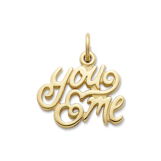 "View Larger Image of ""You & Me"" Charm"