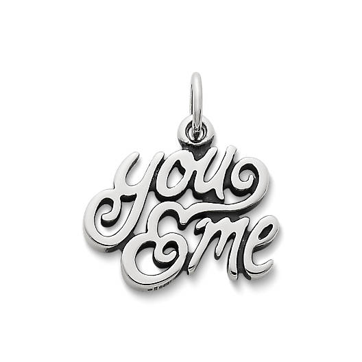 """View Larger Image of """"You & Me"""" Charm"""