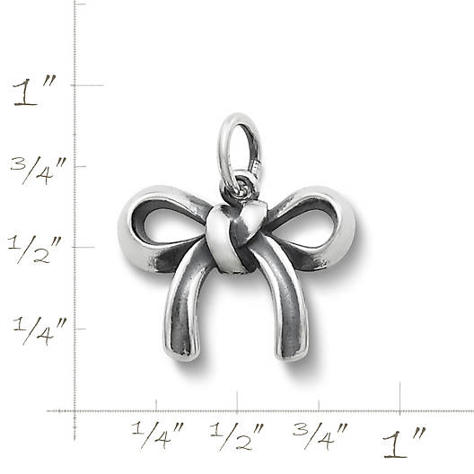 View Larger Image of Bow Charm