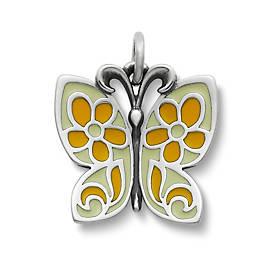 Enamel Butterfly Charm
