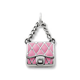 Enamel Fashion Purse Charm