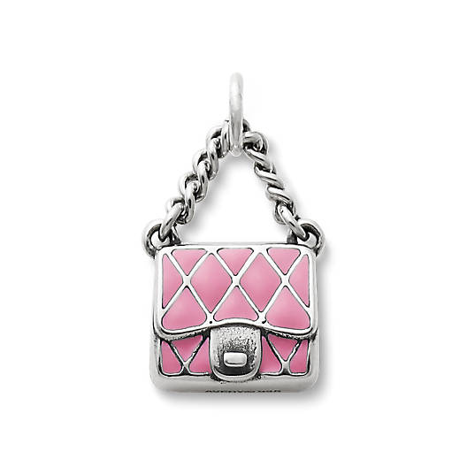 View Larger Image of Enamel Fashion Purse Charm