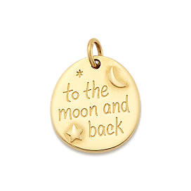 """""""To the Moon and Back"""" Charm"""