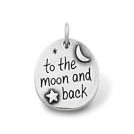 """To the Moon and Back"" Charm"