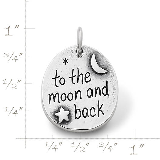 "View Larger Image of ""To the Moon and Back"" Charm"