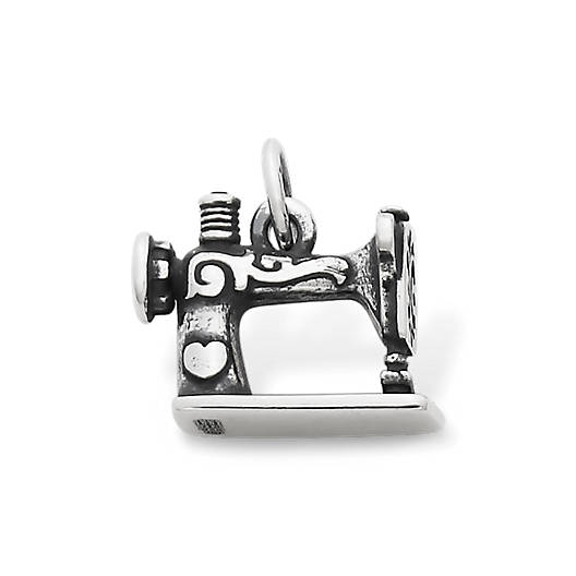 View Larger Image of Vintage Sewing Machine Charm