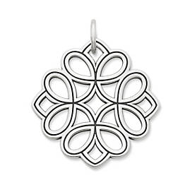 Floral Tracery Pendant