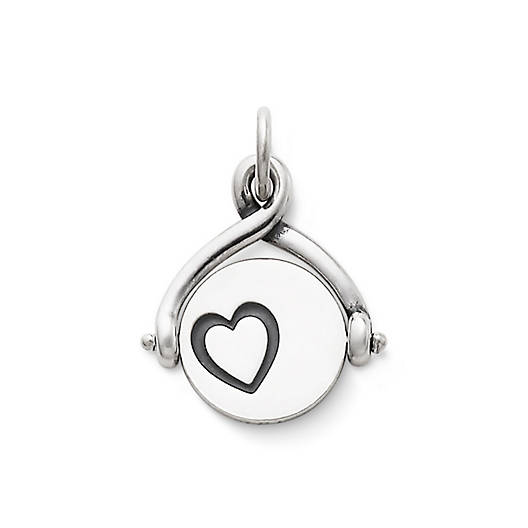 View Larger Image of Linked Hearts Spinner Charm