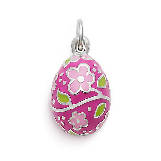 View Larger Image of Painted Easter Egg Enamel Charm