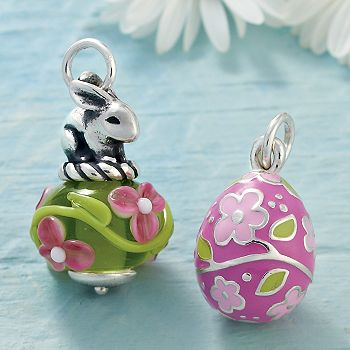 Painted Easter Egg Enamel Charm James Avery