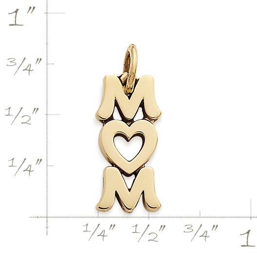 View Larger Image of Love You Mom Charm