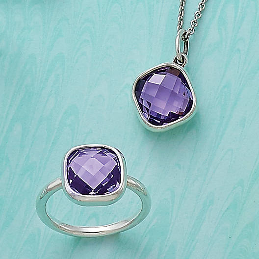 View Larger Image of Avery Isabella Amethyst Pendant