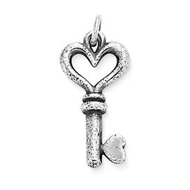 The Heart's Key Pendant