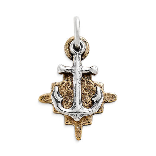 View Larger Image of Four Winds Sterling Silver & Bronze Pendant