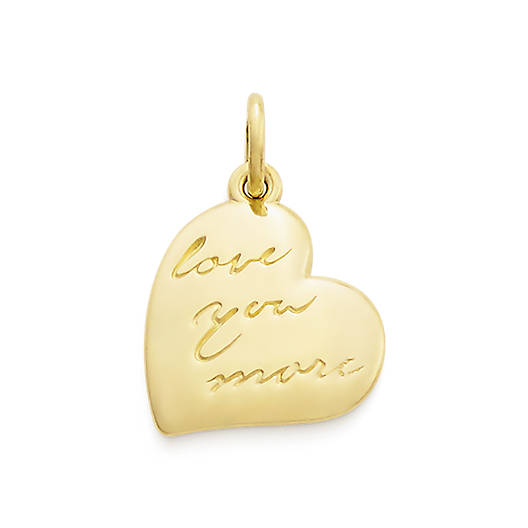 """View Larger Image of """"Love You More"""" Charm"""