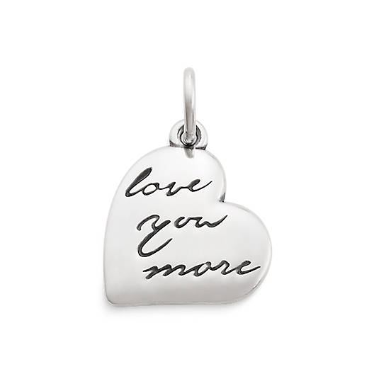 "View Larger Image of ""Love You More"" Charm"