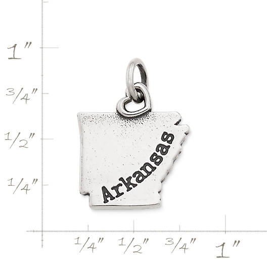 "View Larger Image of My ""Arkansas"" Charm"