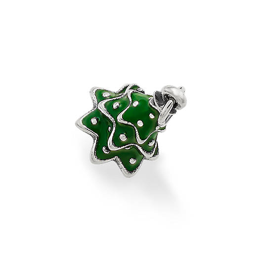 View Larger Image of Enamel Christmas Tree Charm