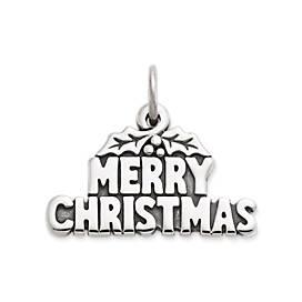 """Merry Christmas"" Charm"