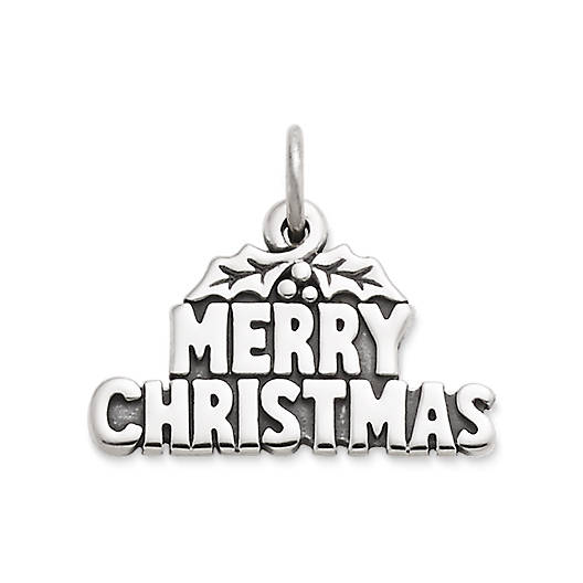 "View Larger Image of ""Merry Christmas"" Charm"