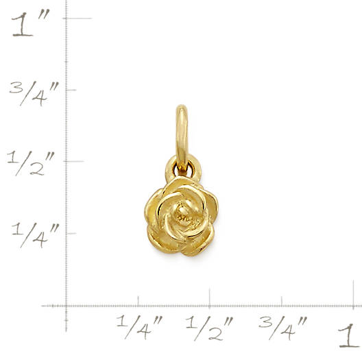 View Larger Image of Mini Rose Charm
