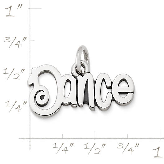 "View Larger Image of ""Dance"" Charm"