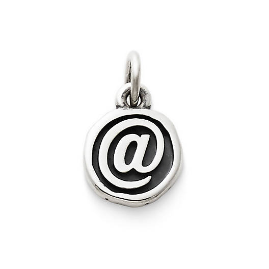 "View Larger Image of Vintage Type ""@"" Charm"