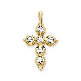 Antiquity Cross with Diamonds