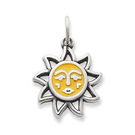 Enamel Sunny Days Charm