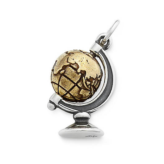 View Larger Image of You Mean the World to Me Charm