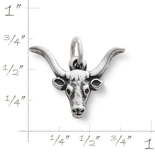 View Larger Image of Longhorn Charm