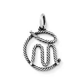 """CM"" Rope Charm"