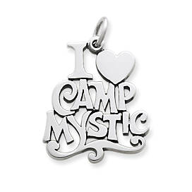 """I Love Camp Mystic"" Charm"