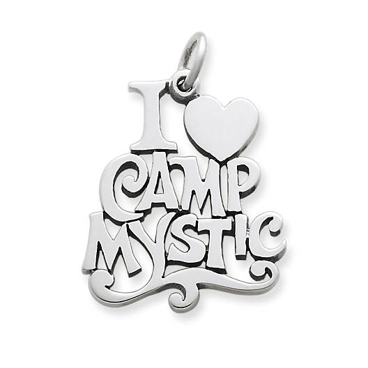 "View Larger Image of ""I Love Camp Mystic"" Charm"