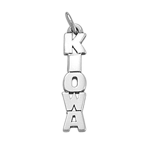 View Larger Image of Kiowa Drop Charm