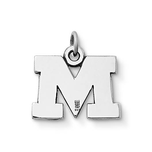 "View Larger Image of ""M"" Charm"