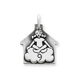 Girl in Cloud 9 Charm