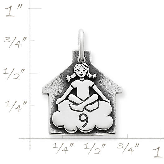 View Larger Image of Girl in Cloud 9 Charm